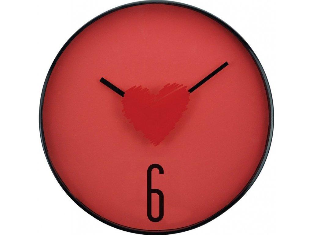 Nástěnné hodiny HEART Ø 31 cm Mybesthome