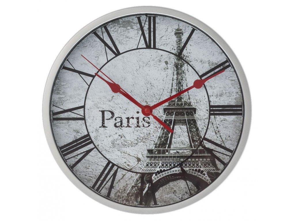 Nástěnné hodiny PAŘÍŽ Ø 23 cm Mybesthome