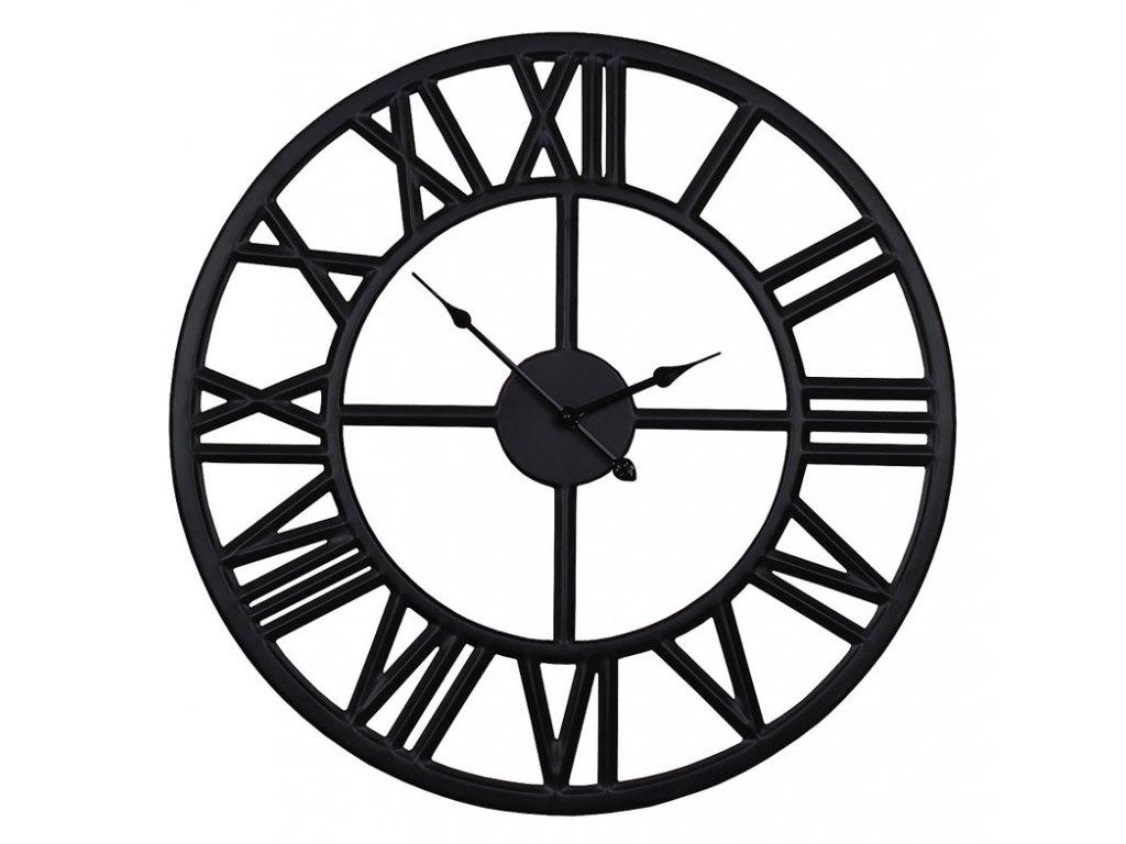 Nástěnné hodiny SOLAR černá Ø 40 cm Mybesthome