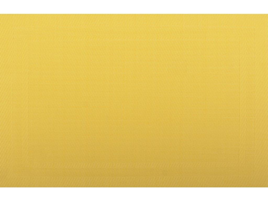 Prostírání PAD žlutá 28x43 cm Mybesthome