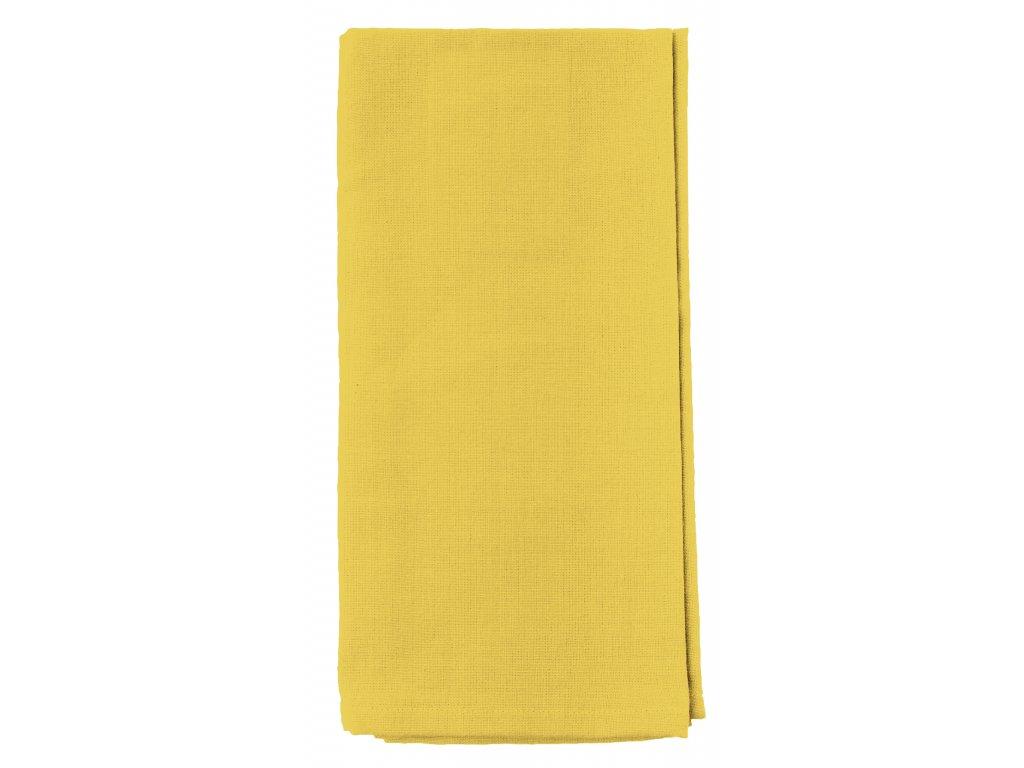 Utěrka MONO 100% bavlna žlutá 45x65 cm Essex