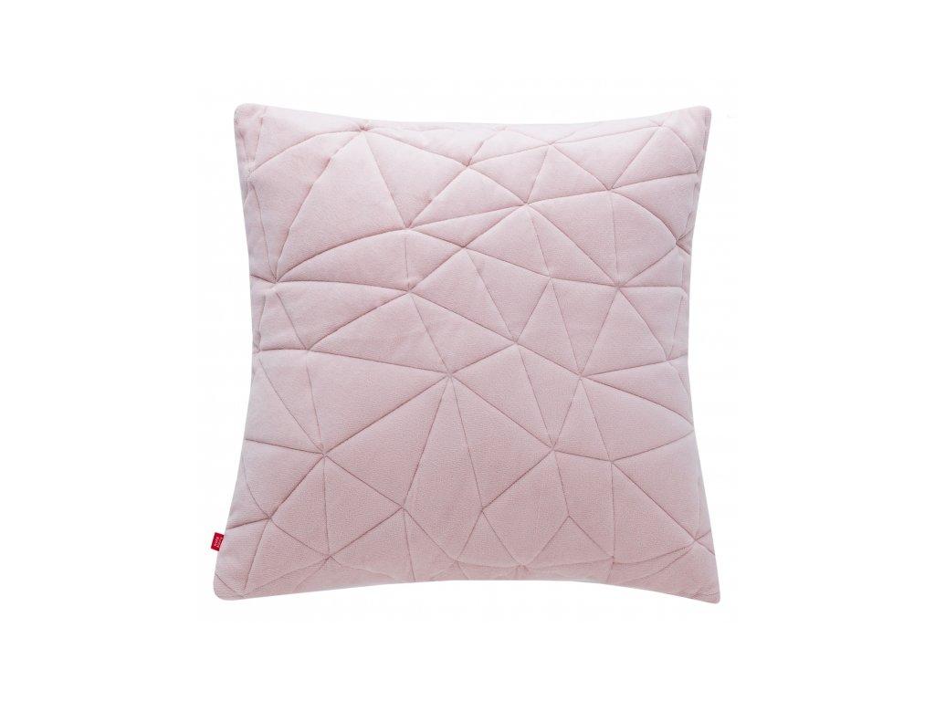 Polštář TRIANGA růžová 45x45 cm HOME & YOU