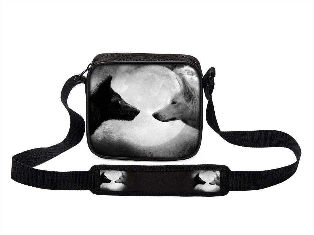 Taška přes rameno MINI s vlkem 18 MyBestHome 19x17x6 cm