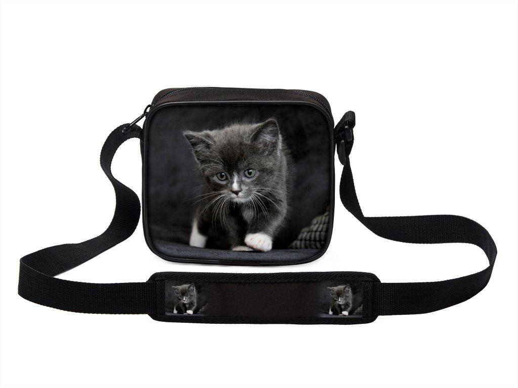 Taška přes rameno MINI kočky 15 MyBestHome 19x17x6 cm