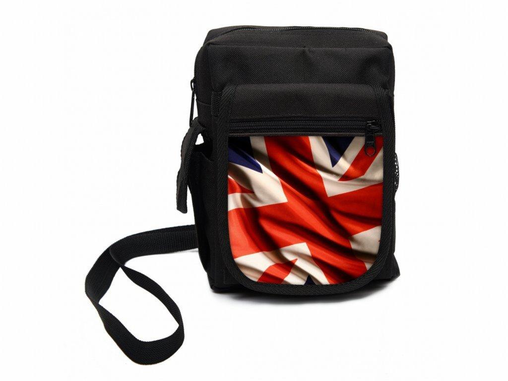 9b3a1ed657 Stylová pánská taška přes rameno s potiskem je ideální na cesty i ...