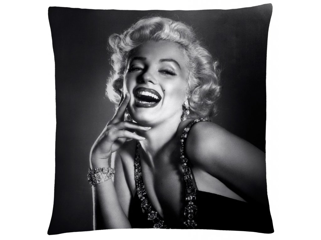 Polštář Marilyn Monroe 02 Mybesthome 40x40 cm