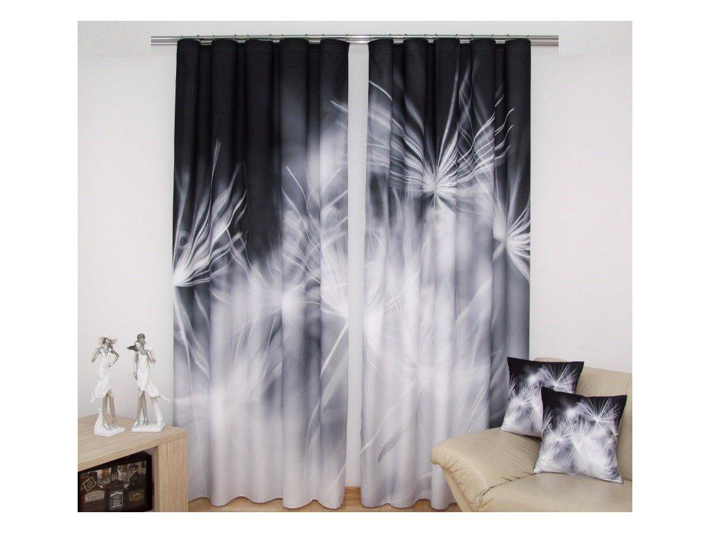 3D dekorační závěs 37 PAMPELIŠKA 160x250 cm MyBestHome