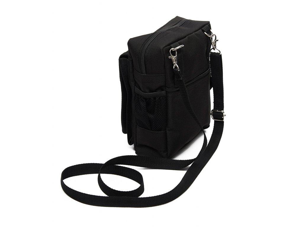 Stylová pánská taška přes rameno s potiskem je ideální na cesty i ... 0cefc737d1