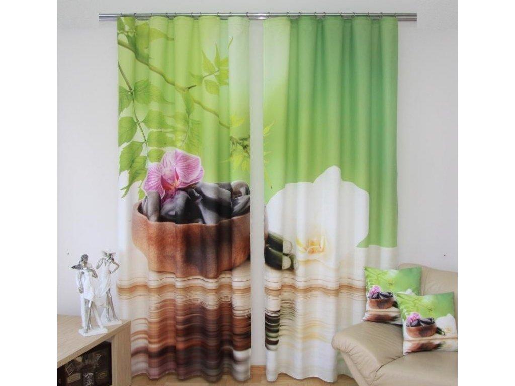 3D dekorační závěs 25 KAMENY 160x250 cm MyBestHome