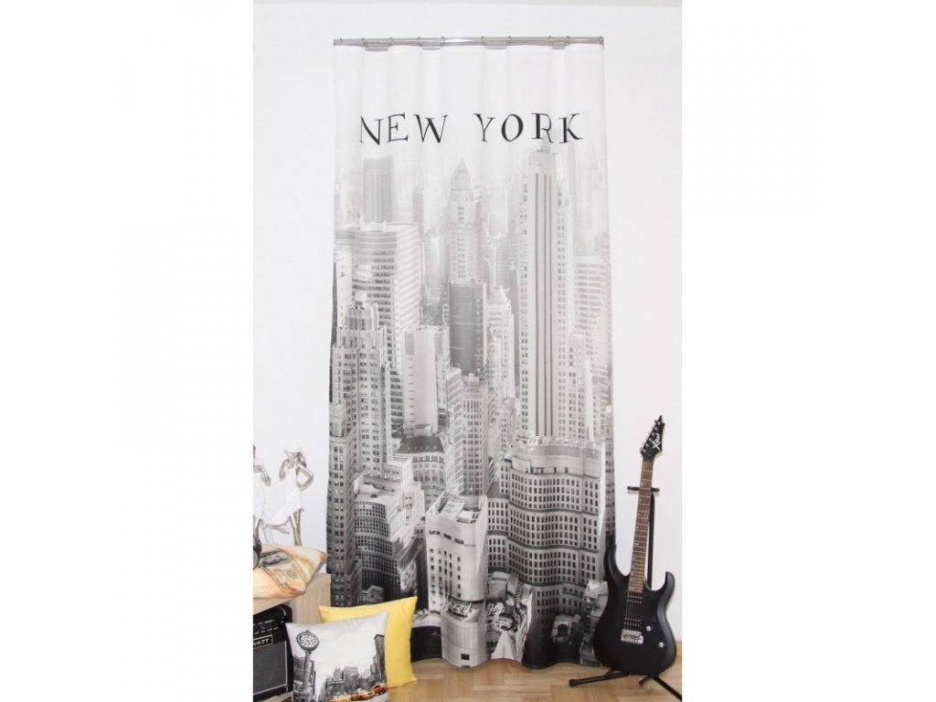 3D dekorační závěs 201 NEW YORK 160x250 cm MyBestHome