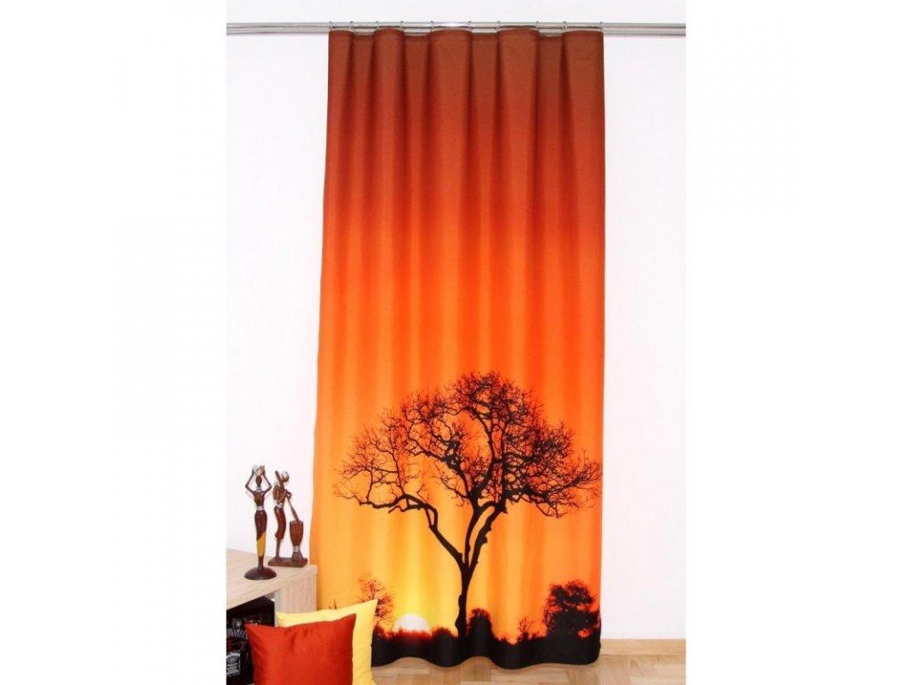3D dekorační závěs 206 AFRIKA 160x250 cm MyBestHome