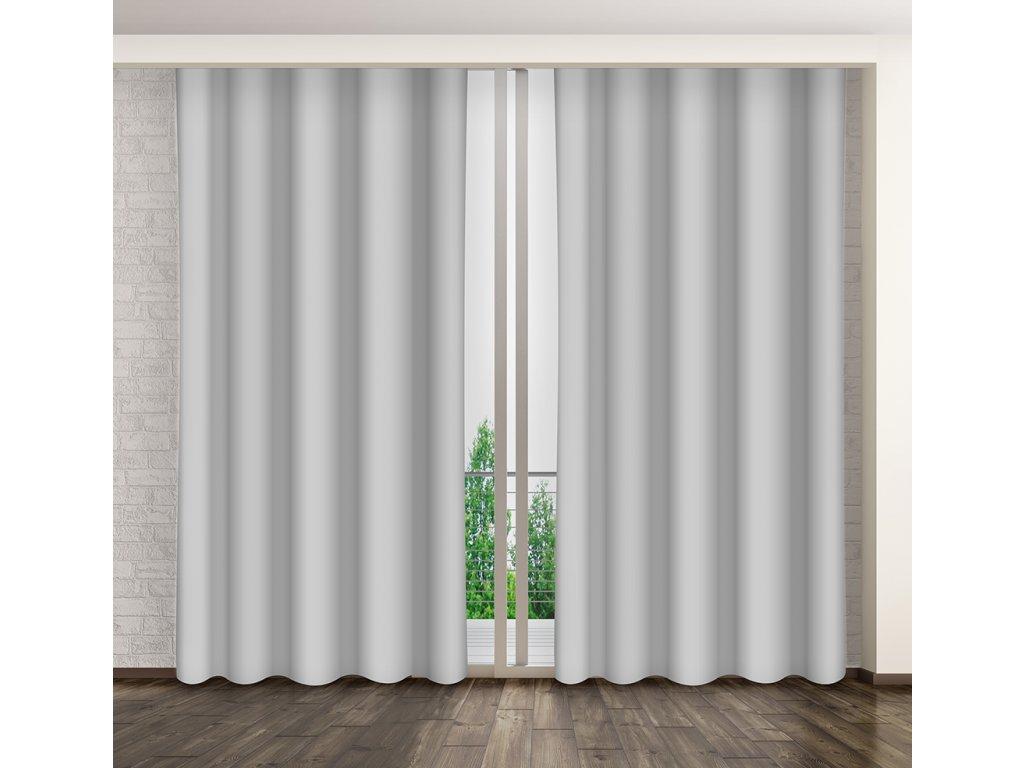 Dekorační závěs 03 šedá 160x250 cm MyBestHome