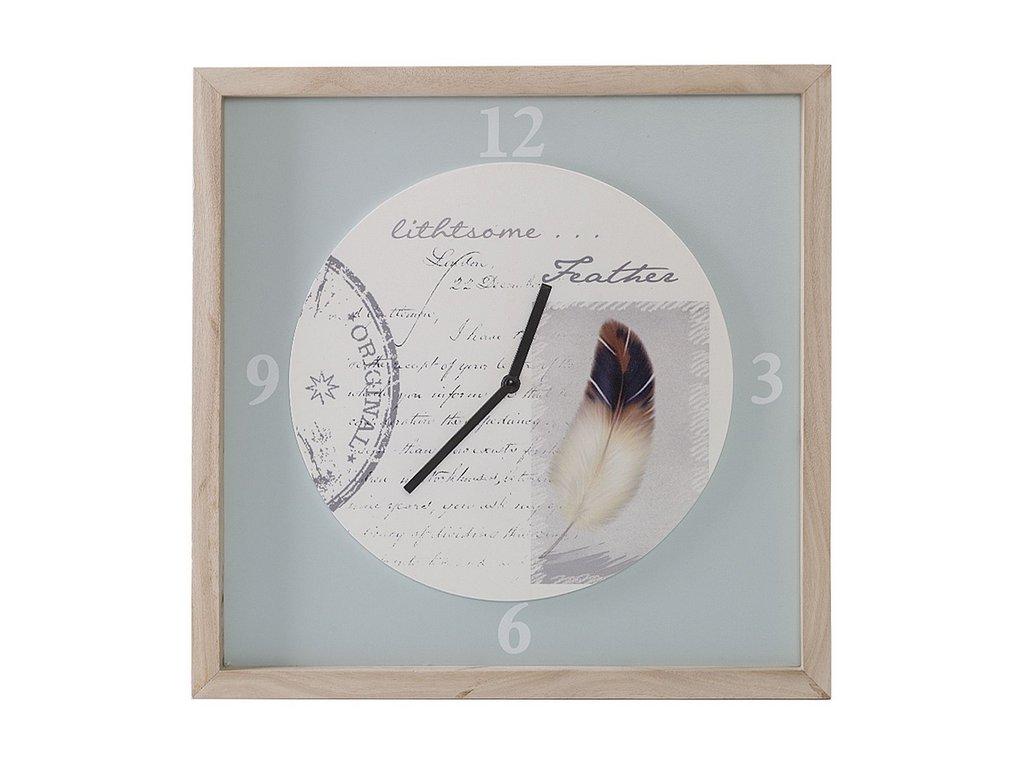 Nástěnné hodiny ORIGINAL 01 40x3x40 cm Mybesthome