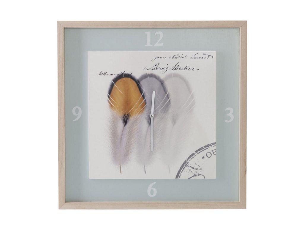 Nástěnné hodiny ORIGINAL 02 50x3x50 cm Mybesthome