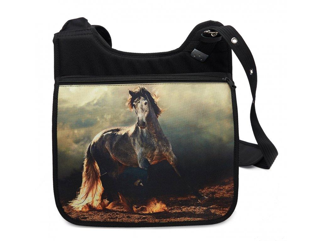 Taška přes rameno koně 01 MyBestHome 34x30x12 cm
