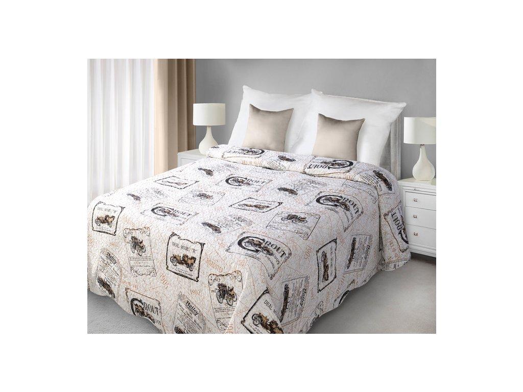 Přehoz na postel ROUT 170x210 cm Mybesthome