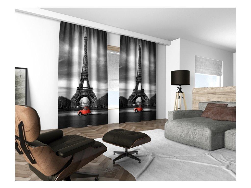 3D dekorační závěs 120V PARIS 160x250 cm set 2 kusy MyBestHome