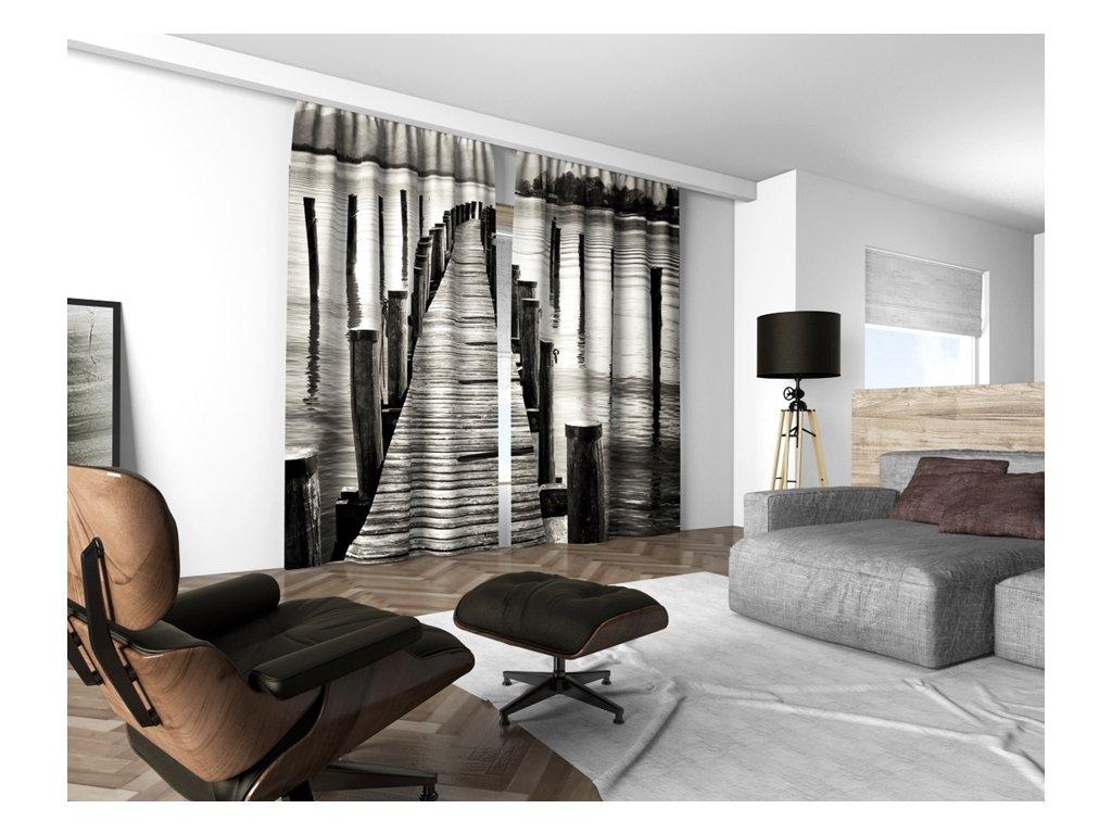 3D dekorační závěs 206V PIER 160x250 cm set 2 kusy MyBestHome