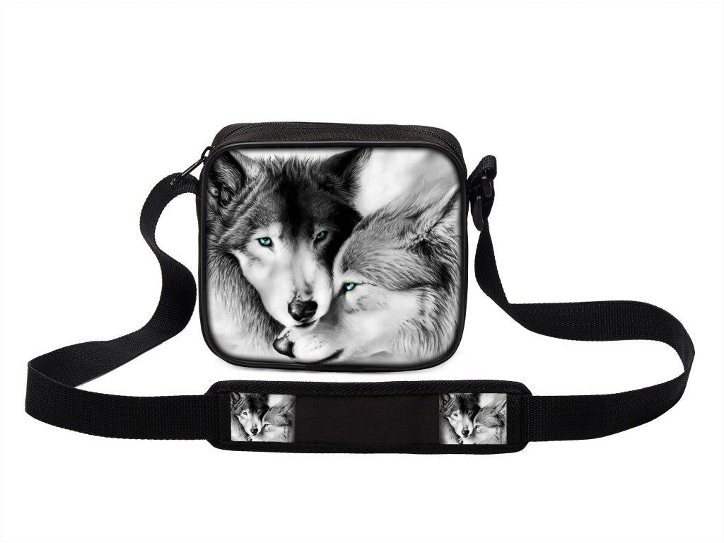bc20c0f10e3 Malá taška s potiskem je ideální na cesty i běžné nošení.