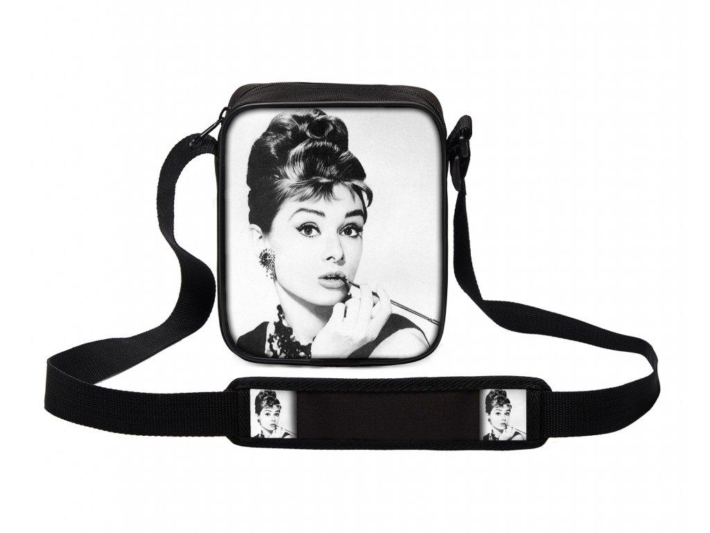 Taška přes rameno MINI Audrey Hepburn MyBestHome 19x17x6 cm