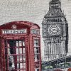 Polštář LONDON DAILY 45x45cm gobelín, MyBestHome