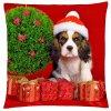 Polštář s motivem vánočního pejska Mybesthome 40x40 cm