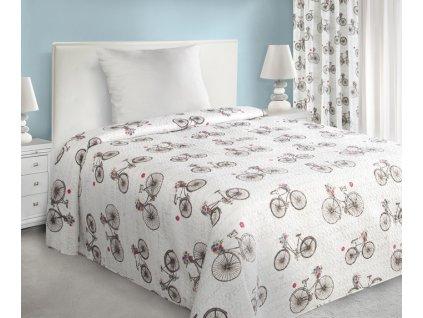 Přehoz na postel NATÁLIE 170x210 cm béžová Mybesthome