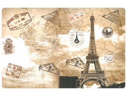Prostírání PARIS FRANCE 29x43 cm motiv Eifelovka Mybesthome
