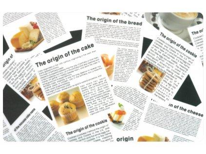 Prostírání NEWSPAPERS 29x43 cm Mybesthome