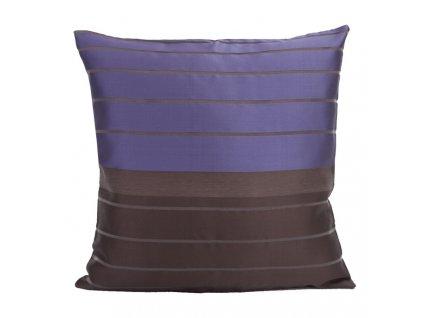 Polštář MODERN fialová/černá 40x40cm Mybesthome