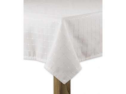 Ubrus SIMPLE design B, 80x80, 120x120 cm, 120x160 cm, 140x160 cm smetanová, ESSEX