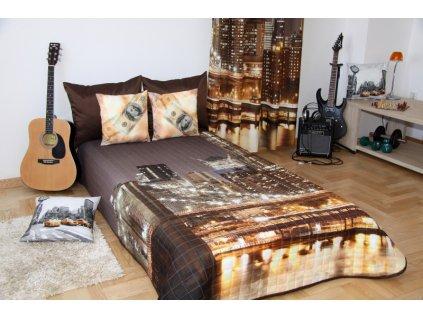 Přehoz na postel CITY LIGHT 160x210 cm Mybesthome