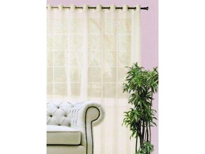 Dekorační dlouhá záclona DIANA smetanová 290x245 cm MyBestHome