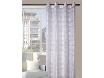 Dekorační vzorovaná záclona BRAGA 140x250 cm MyBestHome
