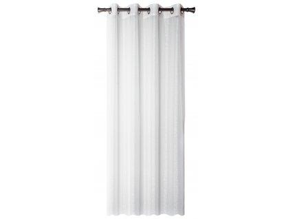 Dekorační záclona s vysokým leskem LUSTER bílá 140x250 cm MyBestHome