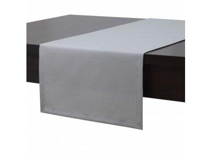 Ubrus - běhoun na stůl MAROKO 40x180 cm, šedá, ESSEX
