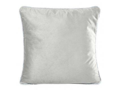 Polštář FANDANGO stříbrná 45x45 cm Mybesthome