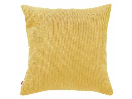 Polštář KORD žlutá 45x45 cm HOME & YOU
