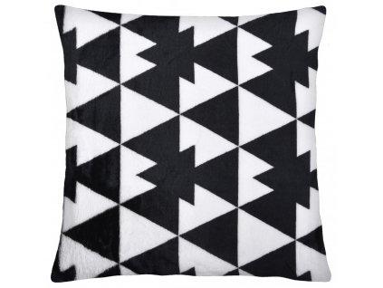 Polštář GEOMETRICAL motiv A Essex 40x40cm, mikrovlákno geometrický vzor