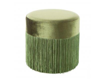Taburet MALIBU zelená 37x36 cm MyBestHome