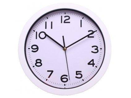 Nástěnné hodiny BAZO bílá Ø 30,5 cm Mybesthome