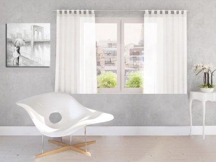 Dekorační záclona DIANA bílá 140x160 cm MyBestHome