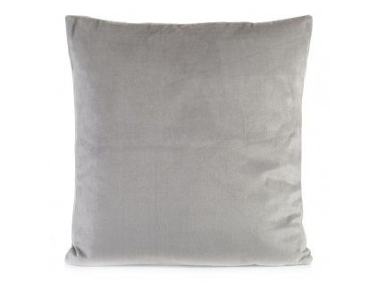 Polštář CALGARY stříbrná 40x40 cm Mybesthome