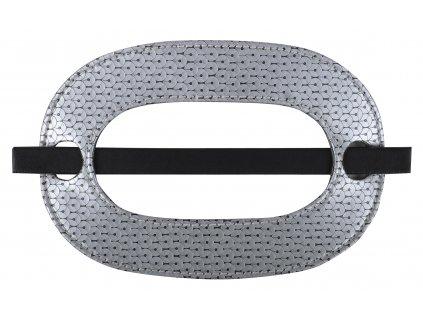 Dekorační ozdobná spona na závěsy ASIDA 18,5x12,5 cm Mybesthome