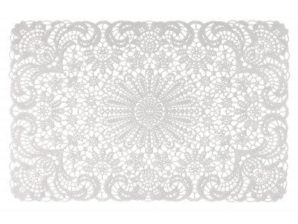 Prostírání LACE bílá 45x30 cm Mybesthome