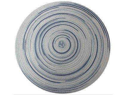 Prostírání kulaté LOLLIPOP modrá Ø 38 cm Mybesthome