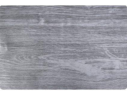 Prostírání WOOD 30x45 cm dřevěný motiv, šedá Mybesthome