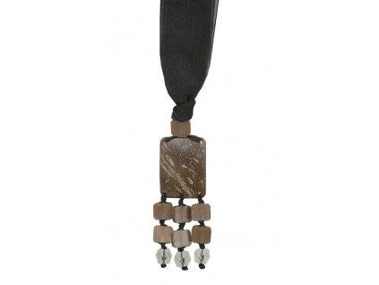 Dekorační ozdobný úvaz - stuha na závěsy FATMA 14 cm Mybesthome
