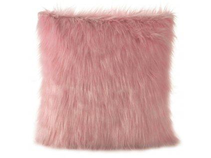 Polštář MONIQUE 45x45cm růžová MyBestHome