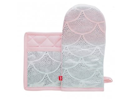Kuchyňský set rukavice/chňapka SYRIEN 15x30 cm/20X20 cm HOME & YOU, 100% bavlna